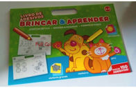 China Customized Baby Activity Book / Children Learning Coloring Activity Book company