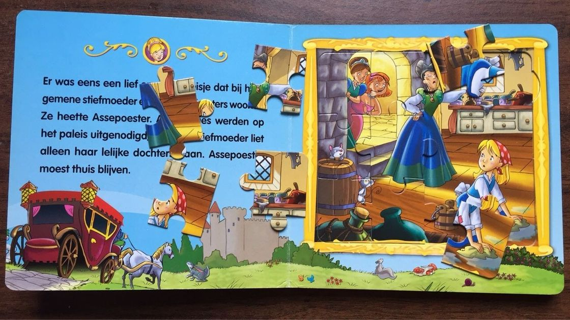 Coated Paper Children'S Puzzle Books For English Learning ISO FSC SGS