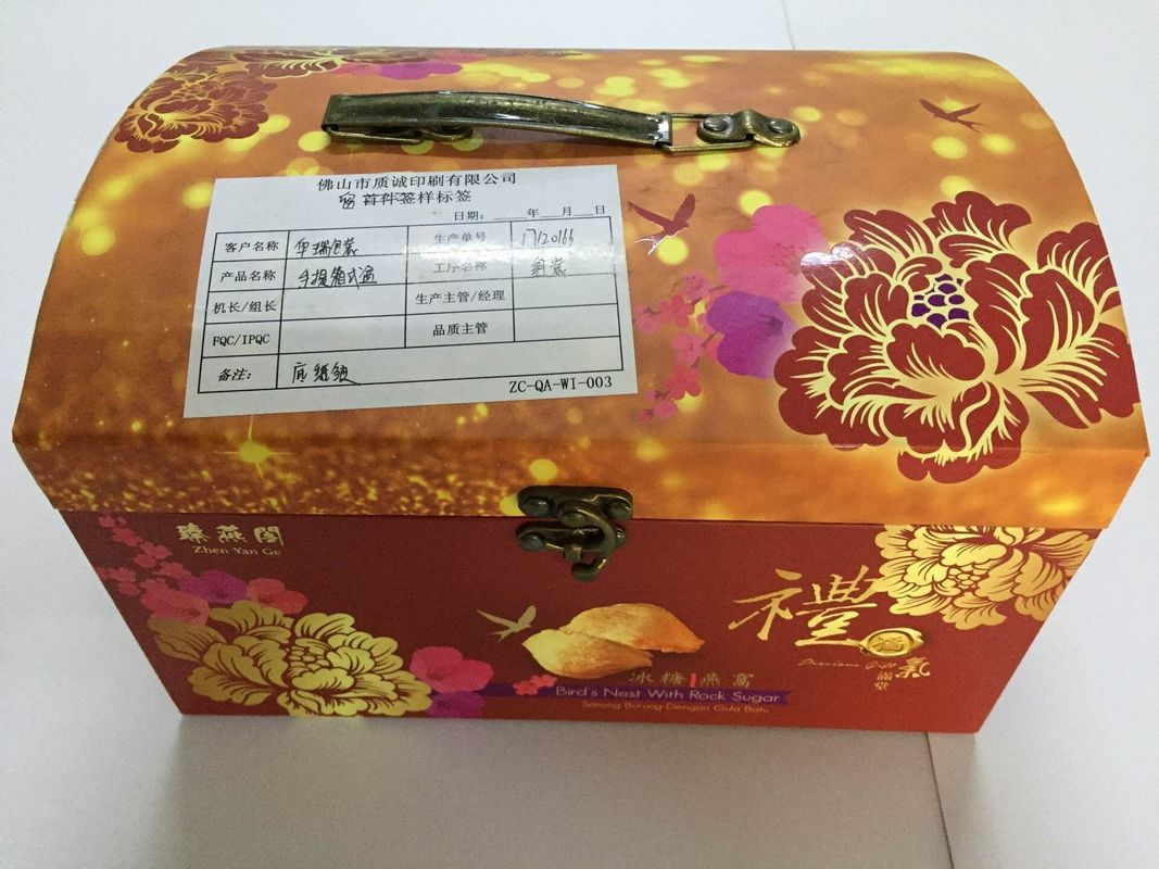 Recycled Offset Printing Cardboard Gift Boxes For Personal Care , Food