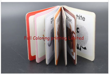 Colorful English Story Children'S Board Book Printing Offset Printing